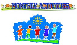 Monthly Activities Calendar