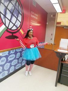 Celebrating Dr. Seuss at Little Carver!